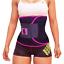 Sports Sweat Ceinture Premium Taille Trimmer Pour les Femmes Ventre brûleur de graisse perte de poids