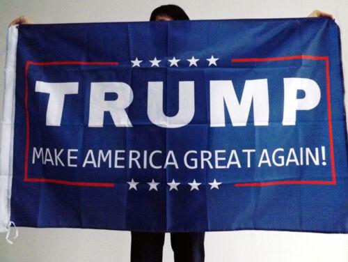 President Keep Make America Great Again Hat Trump Cap America USA Flag Sticker