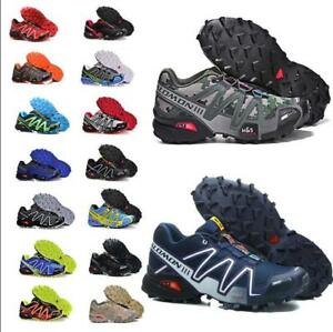Details about Men's Salomon Speedcross 3 Athletic Running Sports Outdoor Hiking Shoes Sneakers