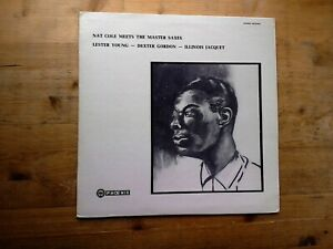 Nat-King-Cole-Meets-The-Master-Saxes-Young-Gordon-VG-Vinyl-Record-Phoenix-LP-5