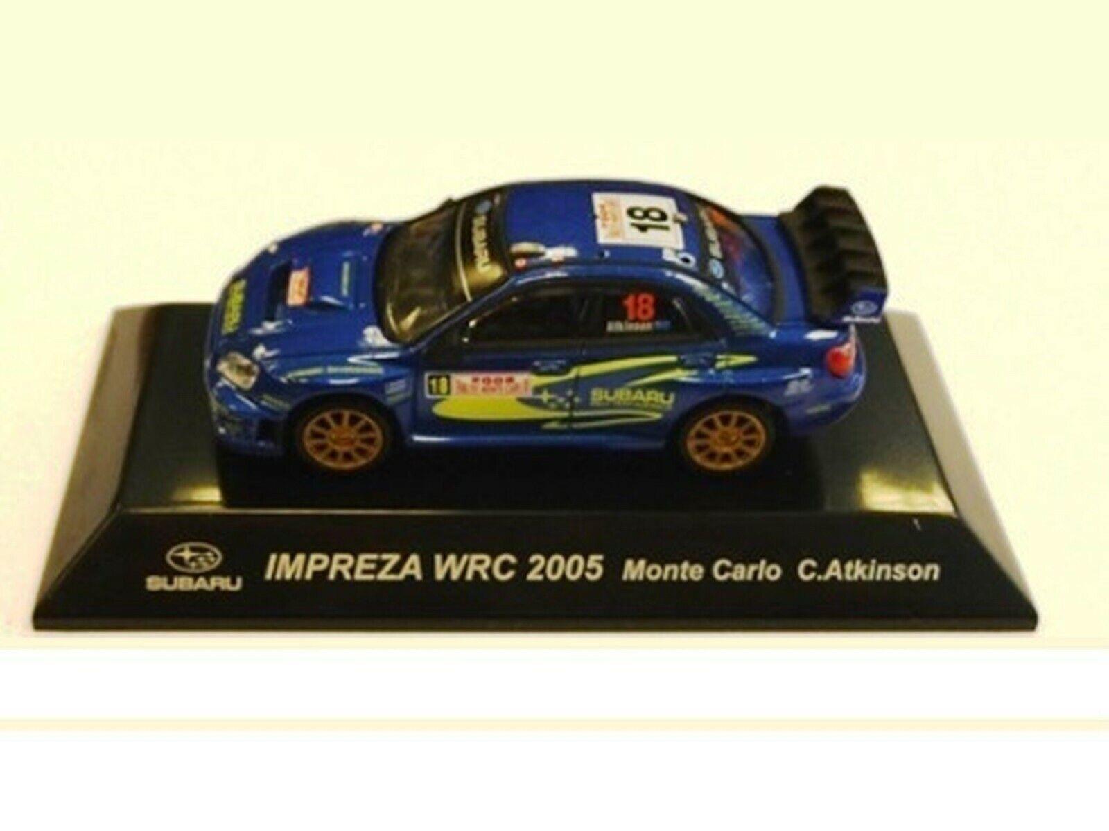WOW EXTREMELY RARE Subaru Impreza 2006 S11 Atkinson M.Carlo WRC 1 64 CM's Kyosho