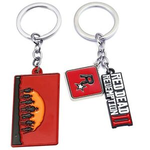 Red-Dead-2-Redemption-Keychain-Game-Pendant-Metal-Key-Ring-Holder-Lizzj-SlIWv