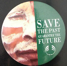 pin badges BODY SHOP SAVE THE PAST GUARANTEE THE FUTURE 55 mm