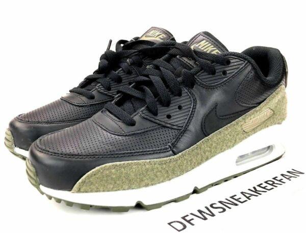 Nike Air Max 90 Hal Olive Black Mens US Size 8 UK 7 EUR 41