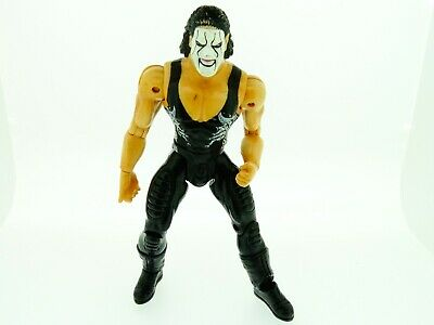 "2000 Marvels Ent. Wwe Sting Wrestling Figure Approx 6"" Kaufe Jetzt"
