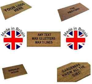 Personalised-Coir-Door-Floor-Mat-Coconut-PVC-Backing-Black-Letters-3-Sizes