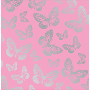 Fun 4 Walls Pink Butterfly Butterflie Girls Childrens Kids