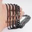 Gourmette Cubain Collier Bracelet Pour Hommes Chaîne 3//5//7//9//11mm noir en acier inoxydable