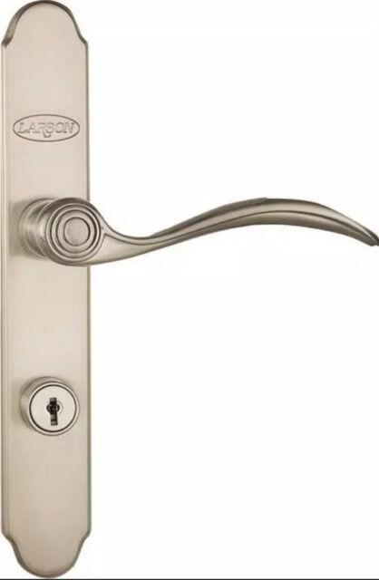Quickfit Storm Door Handleset Brushed Nickel Larson 20297817 For Sale Online Ebay