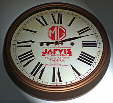 MG Vintage Style Car Dealers Clock, Jarvis, Wimbledon London 1920-30's