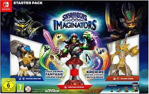 Skylanders-imaginators-Starter-Pack-Nintendo-Commutateur-Game-figurines-Nouveau-neuf-dans-sa-boite