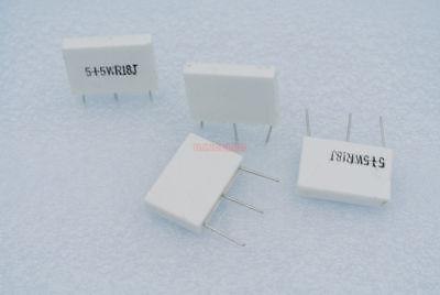 Pack of 25 Current Sense Resistors 7W //-75 ppm SMD 0.1 Ohms .5/% tol SLN5TTEDR100D
