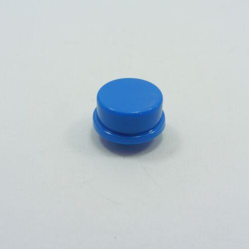 ROUND TAPPI PER pulsante tattile tatto INTERRUTTORI 12×12×7.3mm diversi colori