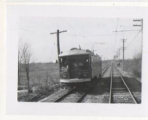 LEHIGH-VALLEY-TRANSIT-Trolley-heading-toward-Philadelphia-PA-Pennsylvania-Photo