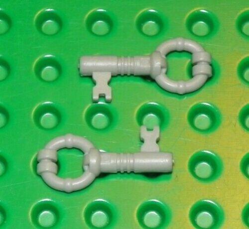 LEGO - HARRY POTTER - Minifig, Utensil - Keys, (X2) - Light Gray