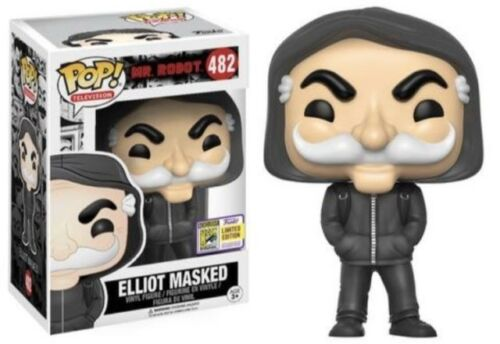 2017 SDCC Exclusive Funko Pop Mr. Robot Masked Elliot Alderson IN HAND