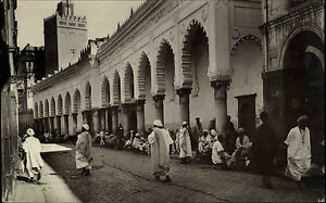 Alger-Algier-Algerien-al-Dschaz-ir-AK-1920-30-Mosquee-rue-de-la-Marine-Moschee