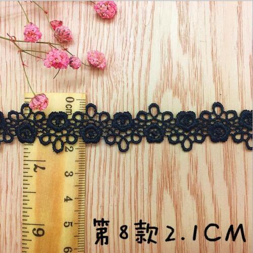 5 Yards (5pcs)Blumen Stickerei spitze DIY Halskette Nähen Zubehör