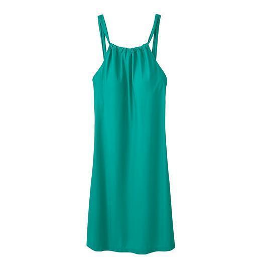 ATHLETA Kokomo Dress, NWOT, Size Large, Green, Swim to Night Out