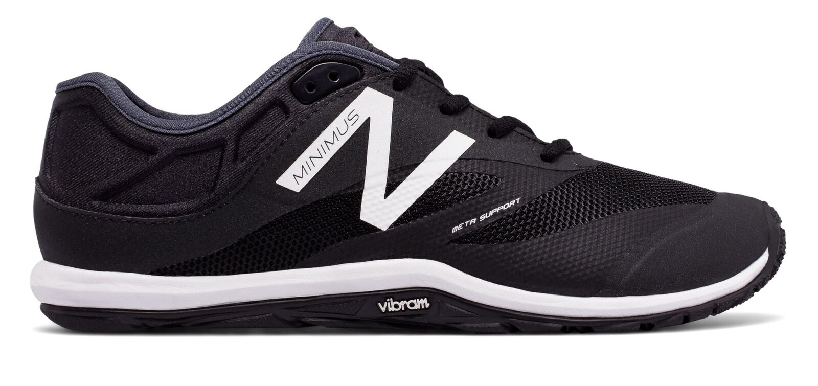 New Balance Male Men's Minimus 20V6 Trainer Adult Black With White & Grey