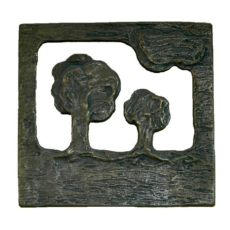 BU-BE Haustürgriff Stoßgriff Griff Bronze Beschlag 18220  Albero