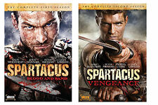 New Sealed Spartacus - The Complete First and Second Season DVD 1 2
