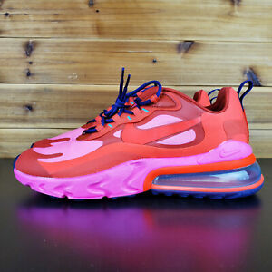 Nike Air Max 270 React Mystic Red Men S Sneakers Shoes Pink Ao4971 600 Ebay