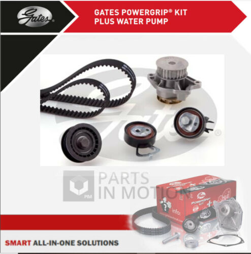 VW POLO 9A 1.4 Timing Belt /& Water Pump Kit 02 to 06 BKY Set Gates VOLKSWAGEN