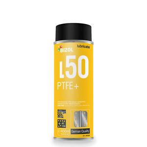 "BIZOL Multifunction Ptfe Spray BIZOL Greasing Thermal Solid "" Ptfe + L50 Oil"