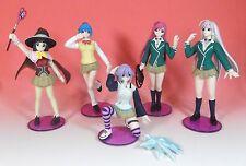 Rare! Rosario+Vampire Gashapon Figure 5 Types Full Set (Kurumu No Wing)+Sleeve