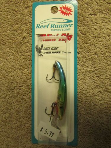 "2 1//4/"" Long E 2 Reef Runner Mini-Rip Fishing Lure Cheap Sunglasses"