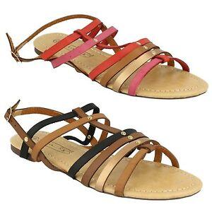 Scarpe da Donna Spot On con spalline colore INSERTO Sandali Gladiatore Estivi