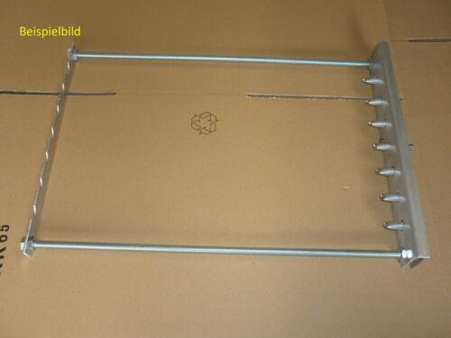 Spießdreher für 7 Spieß Abstand 5,5 cm Grill Mangal ohne Zubehör
