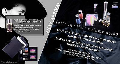 Fall Into The Volume Pro Lifting Perming Kit For Eyelash Extension SET#2 KERATIN