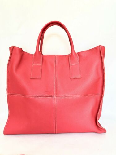 Femme Sac Bandouliᄄᄄre En Italie Shopper CoralFabriquᄄᆭ En Sac Cuir Vᄄᆭritable zpqGLSUMVj