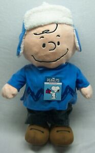 Dan-Dee-Peanuts-LARGE-HOLIDAY-GREETER-CHARLIE-BROWN-21-034-Plush-STUFFED-Decor-NEW