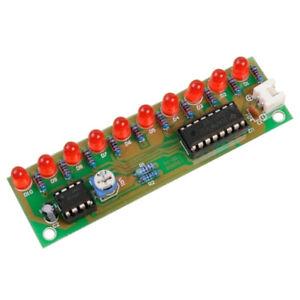 Ne555 Cd4017 Light Water Flowing Light Led Module Diy Electronic Marquee Light Diy Kit White Running Flow Led Electronic Diy Kit Electronic Components & Supplies