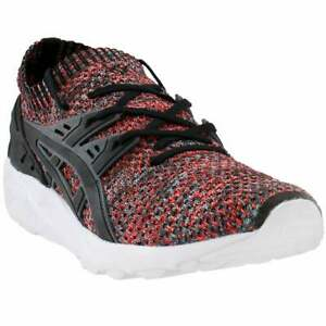 ASICS-GEL-Kayano-Trainer-Knit-Casual-Training-Shoes-Black-Mens
