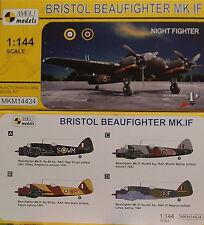 Bristol Beaufighter Mk.IF, Night Fighter, Mark 1, 1:144,  NEUHEIT!