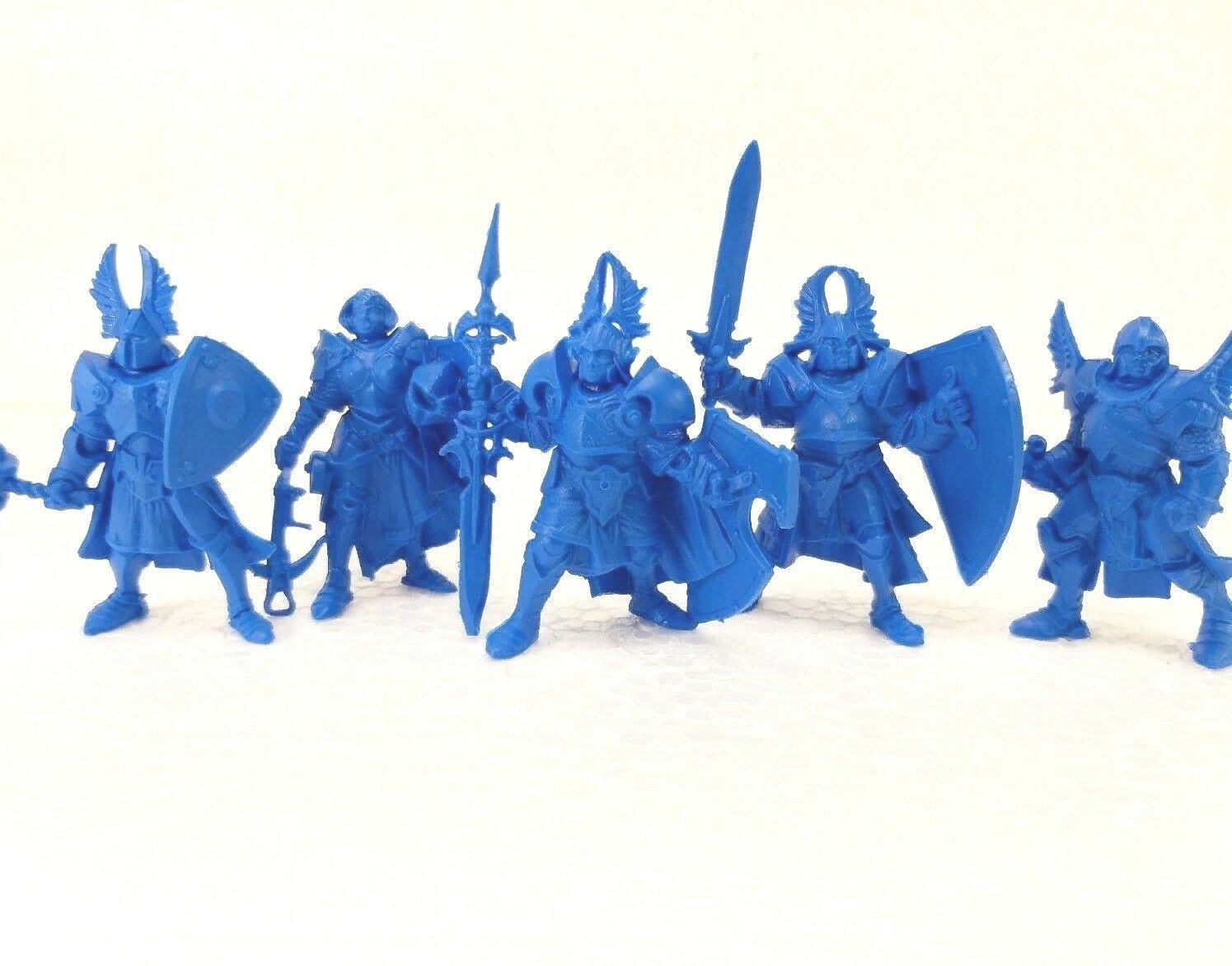 5 Fantasy Figures Russian Knights Toy Soldiers 54 mm Tehnolog Fantasy Battle Box