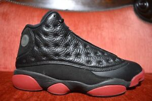 5e3da3f5425e57 Nike Air Jordan Dirty Bred Gym Red 13 XIII Size 8 414571 003 OG ALL ...