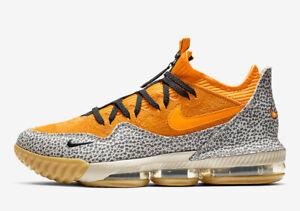 60ee0c83ee7 Nike LeBron 16 XVI Low AC Atmos Safari Size 14. CD9471-800 | eBay