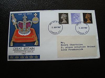 Tag 5/6/1967 Vereinigte Königreich cy17 GroßZüGig Vereinigtes Königreich Umschlag 1