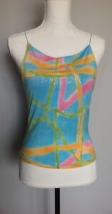 VERSACE-Jeanne-Couture-Stretchy-Tank-Top-L