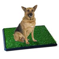Large Pet Potty Patch Pet Park Mat Dog Indoor Outdoor Home Training Pee Pads