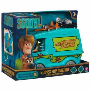 Scooby-Doo-Scooby! Mystery Machine véhicule Playset Inc 5 in (environ 12.70 cm) Figurine Shaggy