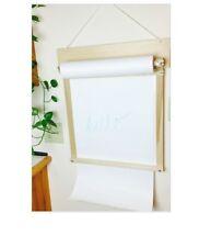 magic cabin wall mounted elephant paper roll art easel ebay
