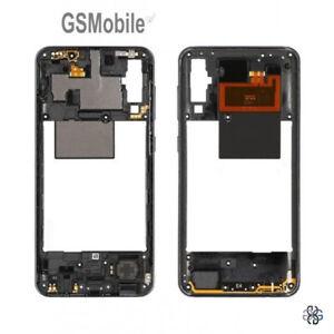 Carcasa-Chasis-Marco-Middle-Cover-Negro-Samsung-Galaxy-A50-2019-A505-Original