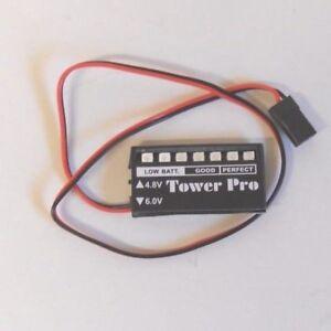 À Bord Batterie Moniteur Batterie Checker 4.8 & 6 V Neuf Dans Paquet-afficher Le Titre D'origine