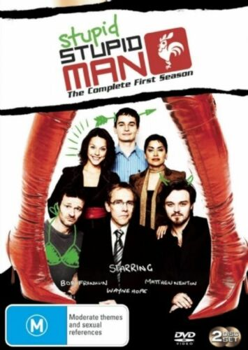 1 of 1 - Stupid Stupid Man : Season 1 (DVD, 2007, 2-Disc Set)